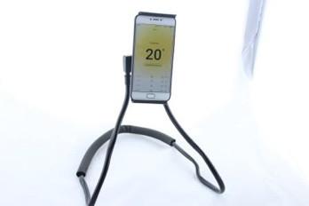 Держатель HOLDER WAIST / универсальный держатель для путешествий / Держатель на шею для мобильного телефона