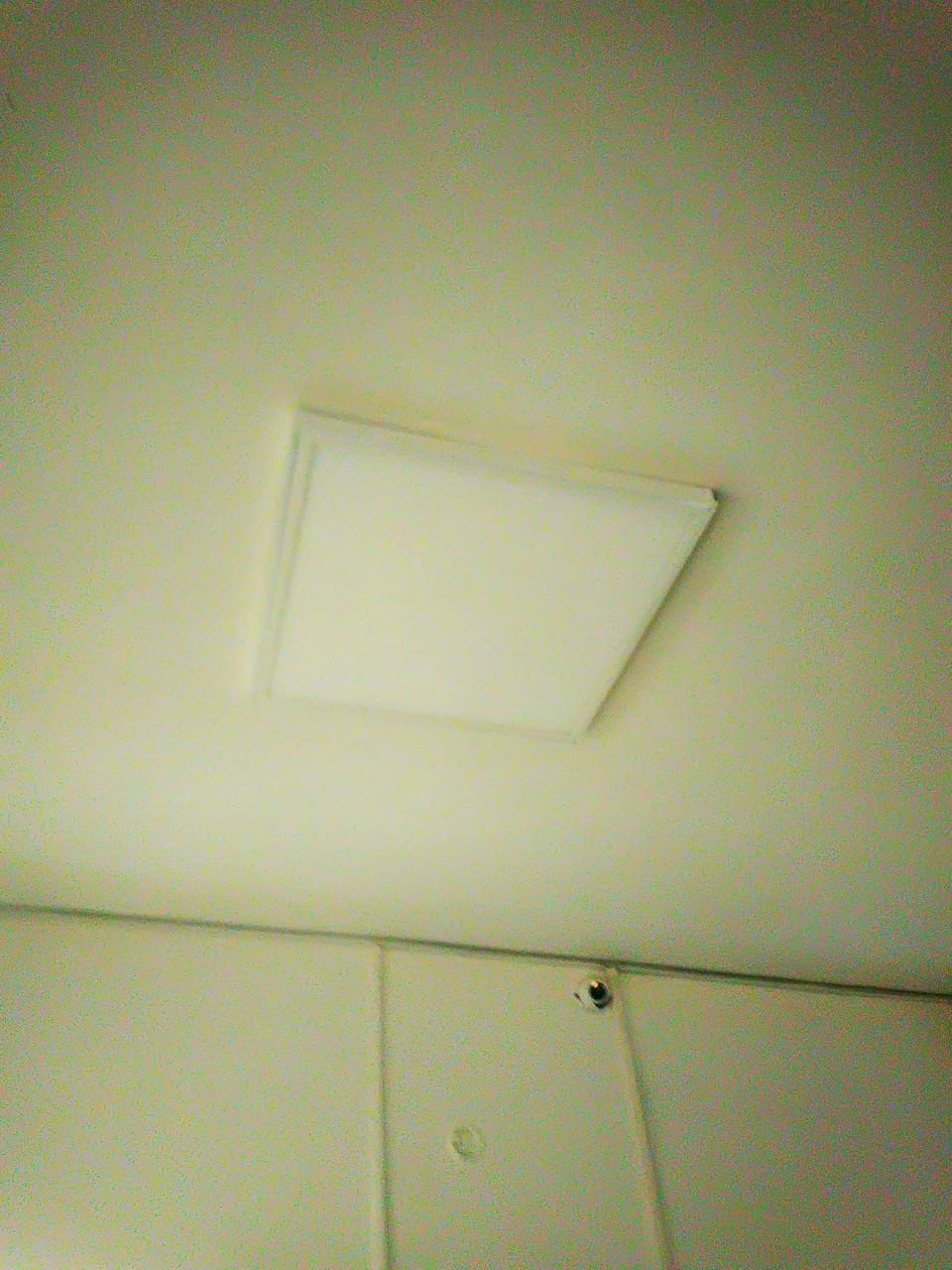 Накладний світильник панель PN1-600x600-m-40W 4000K 3600лм CRI 80 600х600х40 10560-н