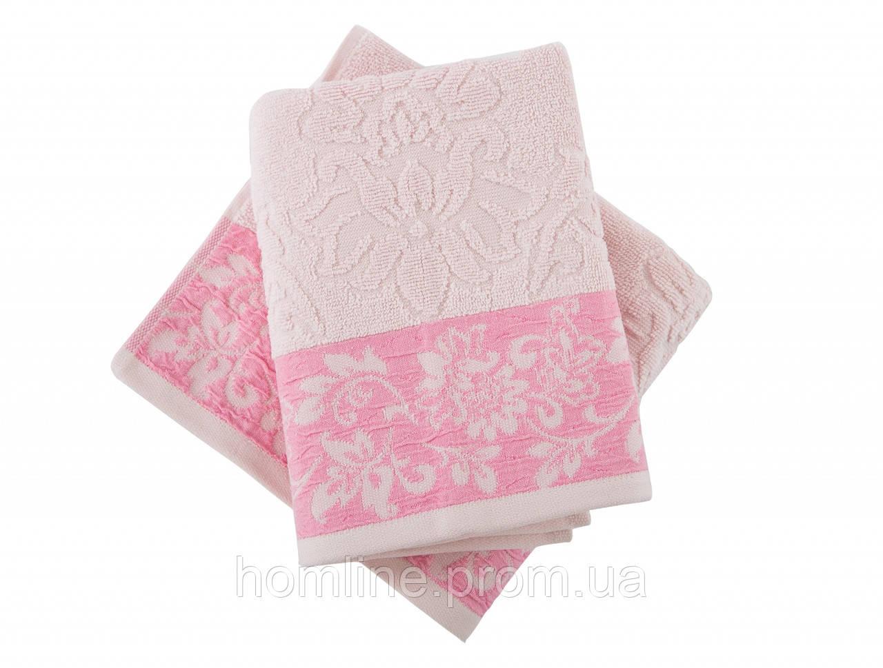 Полотенце махровое Irya Jakarli Scarlet pembe розовый 90*150