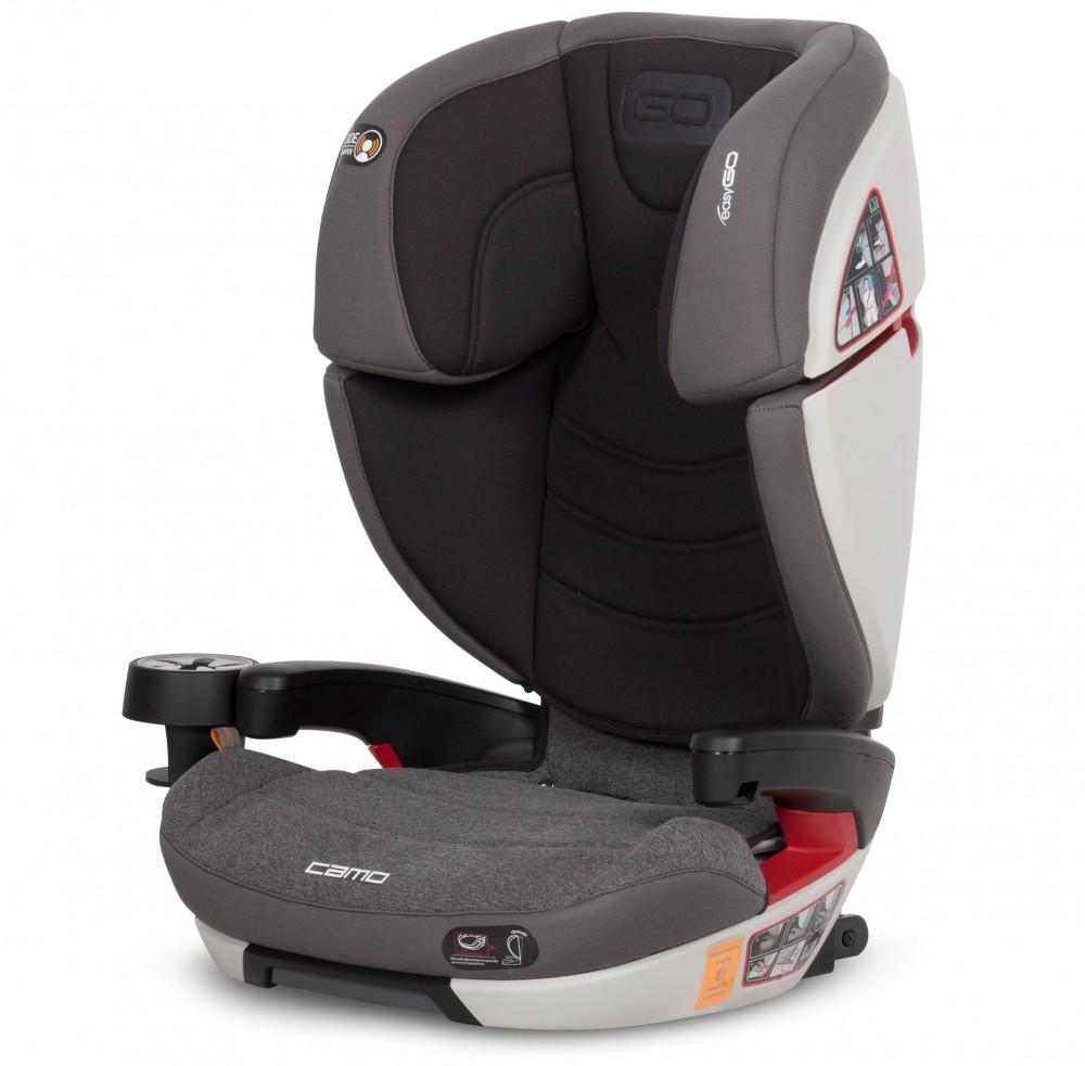 Детское автокресло EasyGo Camo carbon (15-36 кг)