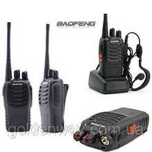 """Портативная радиостанция (комплект раций- 2шт)  Baofeng BF-888S """"Всегда на страже"""""""