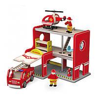 Игровой набор Пожарная станция Viga toys (50828)