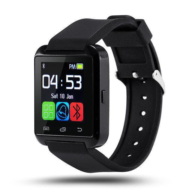 Умные часы Uwatch U8 черные Bluetooth Smart Android/IOS в коробке