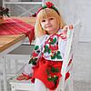 Вишитий костюм Калинка (1, 2, 3, 4, 5 років)