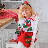 Вишитий костюм Калинка (1, 2, 3, 4, 5 років), фото 1