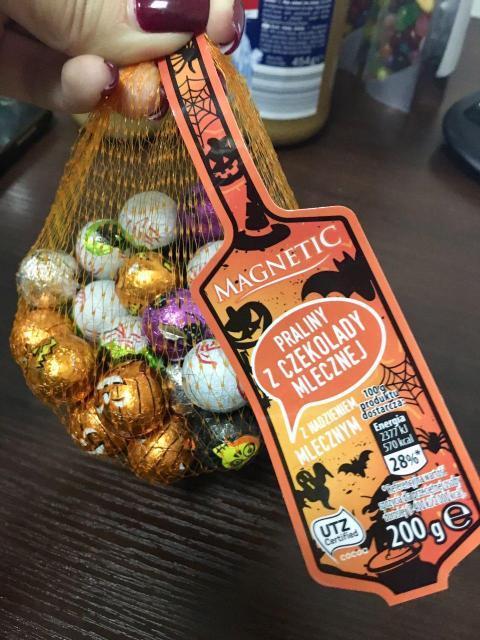 Шоколадные шарики Magnetic Halloween