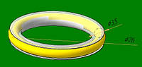 Бесшумная вставка кованое кольцо 16мм