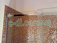 Стеклянная душевая перегородка с раздвижной дверью, фото 1