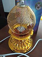 Светодиодная вращающаяся лампа с цветомузыкой