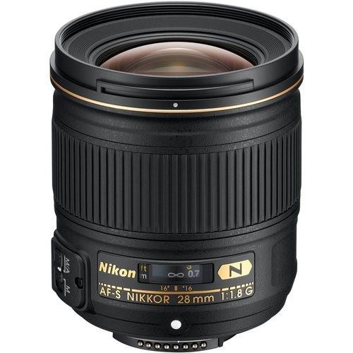 Объектив Nikon AF-S 28mm f/1.8G Гарантия производителя (на складе)
