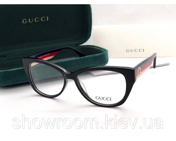 Женская пластиковая оправа в стиле Gucci 02770