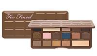 Палетка теней Too Faced Chocolate Bar Semi-Sweet (Чоколат Бар Семи Свит) реплика