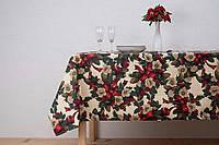 """Новогодняя скатерть """"Christmas Flowers Vanilla"""", фото 1"""