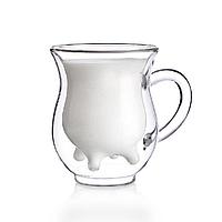 Чашка для молока с двойным дном 2 шт 90 мл