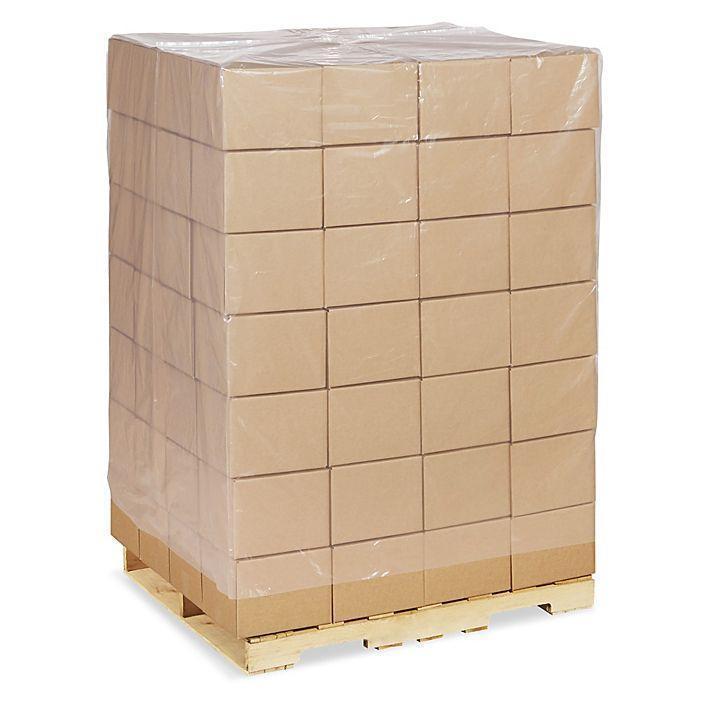 Чехлы для индустриальных поддонов и паллет 1200*1200, пакеты толщиной 220 мкм