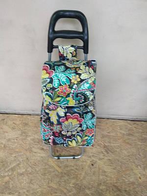 Хозяйственная сумка тележка на колесиках