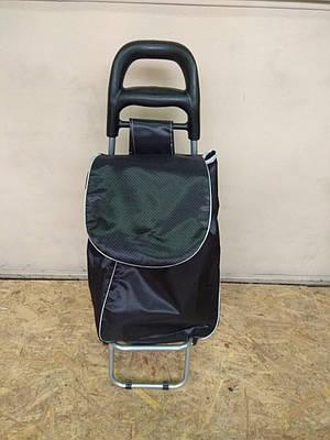 Тележка сумка хозяйственная на металлических колесах