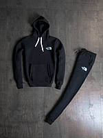 Мужской зимний спортивный костюм The North Face Black