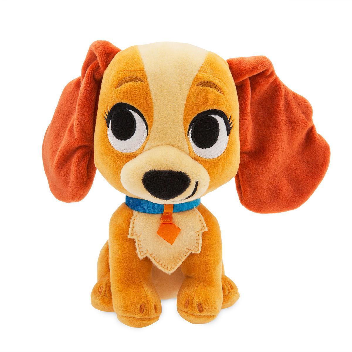 Disney Мягкая игрушка кокер-спаниель Леди 20см - Леди и Бродяга