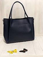Женская сумка Guess темно-синяя
