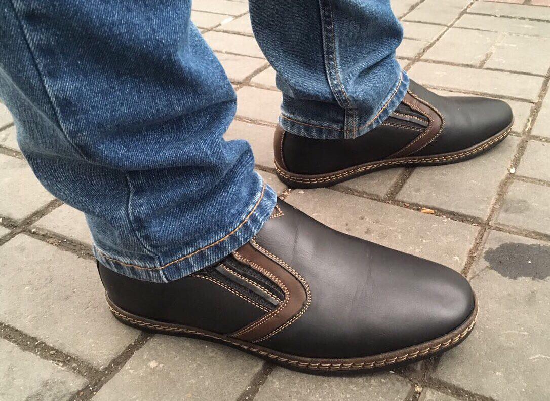 Туфли мужские зимние