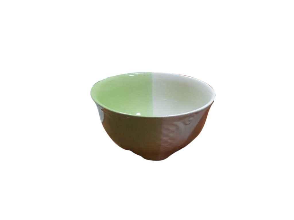 """Салатик 480 мл керамический бело-салатовый """"АВАНГАРД"""""""