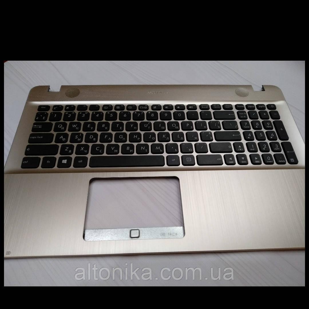 Клавиатура с Топ-кейсом для ноутбука Asus R541 X541 X541U X541UA X541UV X541S X541SC X541SA (ORIGINAL)