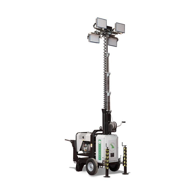 Мобильная осветительная мачта со светодиодными лампами Luxtower M 13