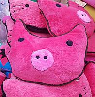 Оригинальный подарок! Подушка свинка