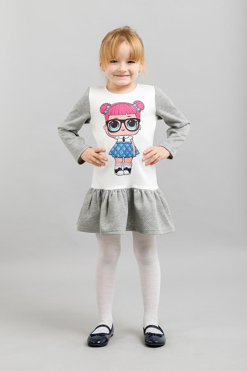 Платье на девочку LOL №2