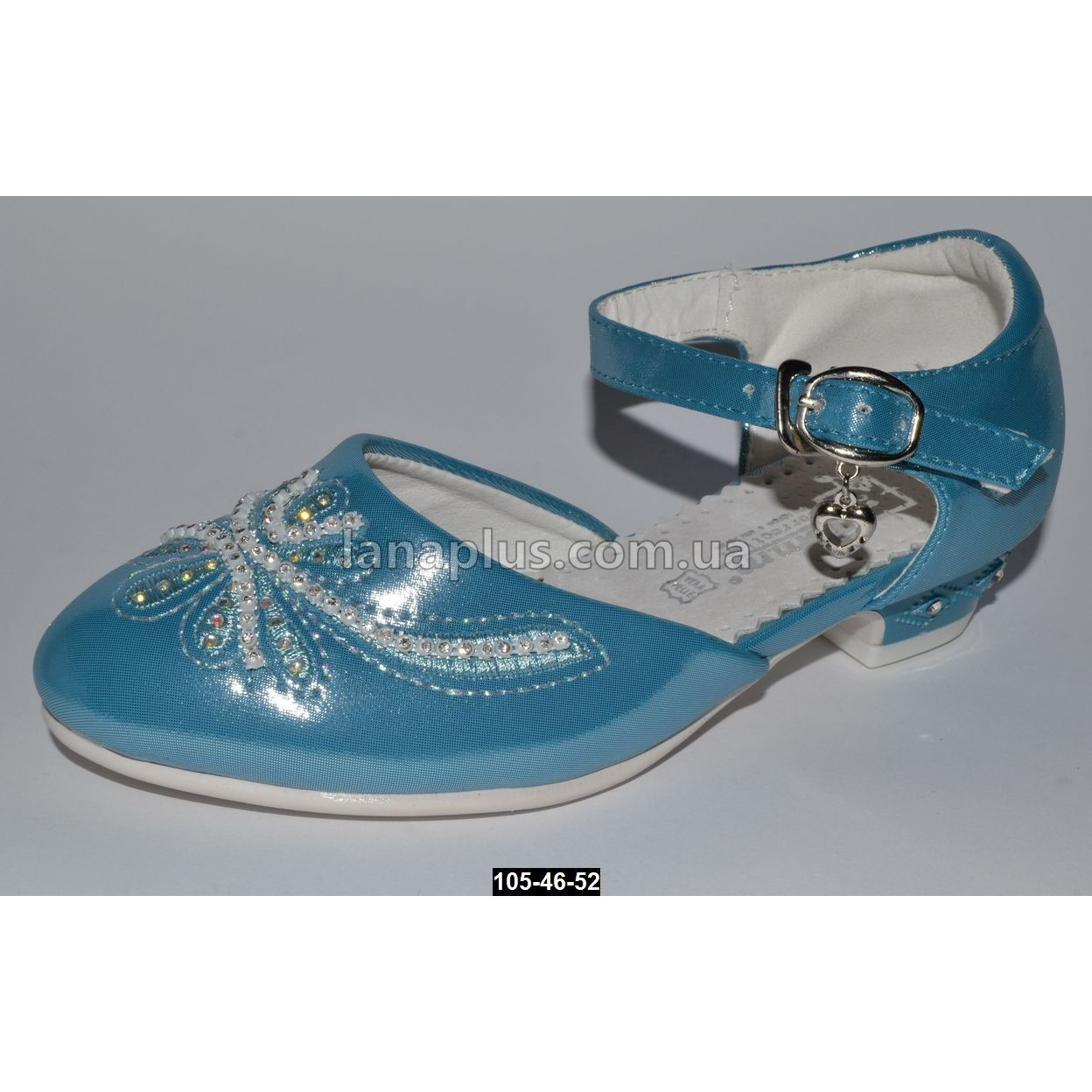 Нарядные туфли Tom.m для девочки 27 размер (18.2 см), праздничные туфельки на утренник