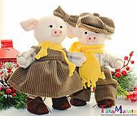 Игрушка ручной работы Подарок к Новому году Рождественский сувенир Мягкая игрушка