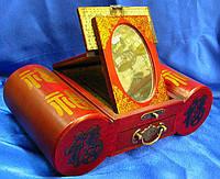Трюмо антик (18х27х16,2см),шкатулки из дерева,оригинальные подарки,товары для женщин