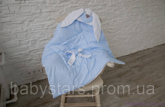 """купить конверт-одеяло на выписку """"Мамина Зайка""""в интернет-магазине"""