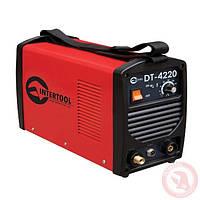 Сварочный инвертор INTERTOOL DT-4220 для аргоно-дуговой сварки 230В, 4.5кВт, 10-200А