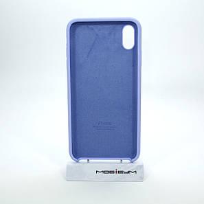 Накладка Apple iPhone XS Max dark purple, фото 2