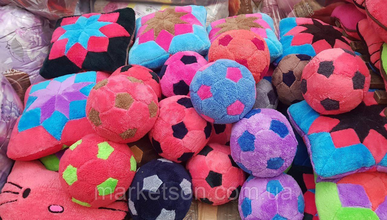Оригинальный подарок! Декоративная подушка мяч