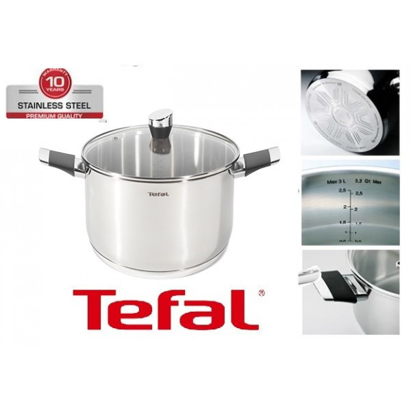 Кастрюля TEFAL EMOTION 8.2l