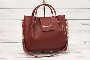 Женская сумка Mісhаеl Коrs (в стиле Майкл Корс), цвет марсала