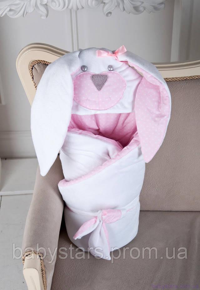 """одеяло-конверт на выписку """"Мамина Зайка"""""""