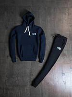 Мужской зимний спортивный костюм The North Face Navy/Black