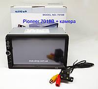 """Автомагнитола пионер Pioneer 7018B 7"""" 2DIN+камера заднего вида, фото 4"""