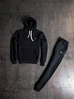 Мужской зимний спортивный костюм Lacoste Black