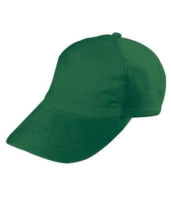 Чоловіча темно-зелена кепка