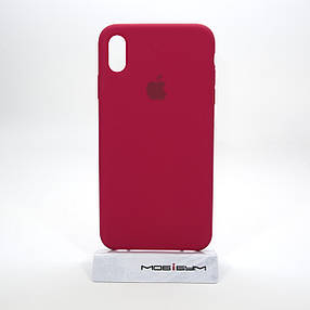 Накладка Apple iPhone XS Max cherry red, фото 2
