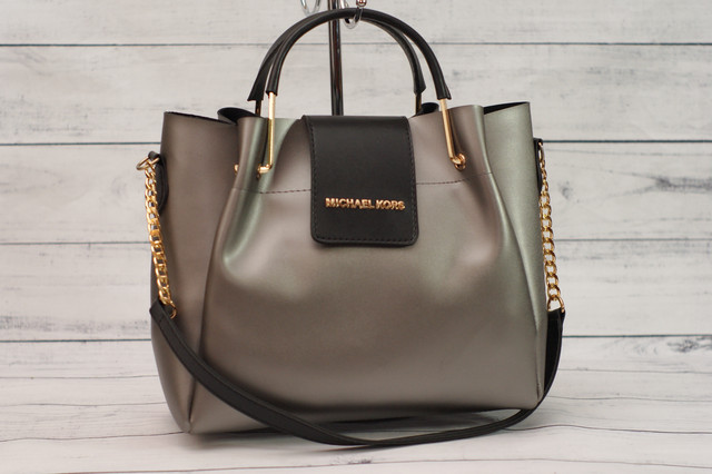 Женская серая сумка