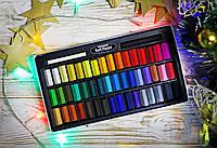 Подарочный набор мягкой пастели MUNGYO для рисования, работы с глиной для лепки, флористики,48шт.