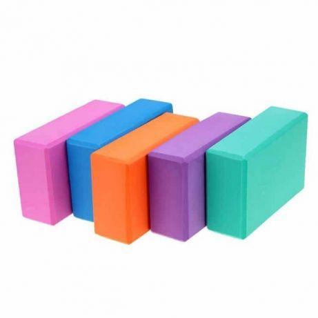 Блок для йоги, растяжки (разные цвета)!