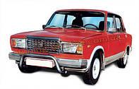 Кенгурятник рамка D60 крашенный молотковый на ВАЗ 2105 1979-2010