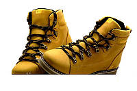 Мужские зимние кожаные ботинки в стиле CAT Expensive Arena